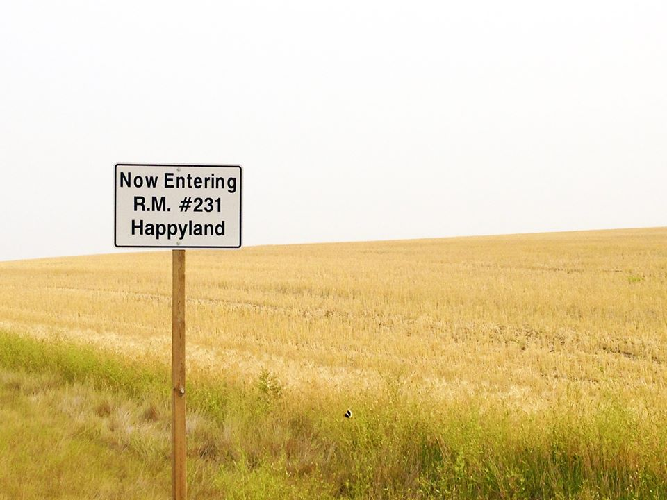 The R.M. of Happyland near Leader, Sask.