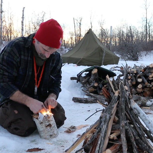 Winter Camping at Moose Mountain Provincial Park