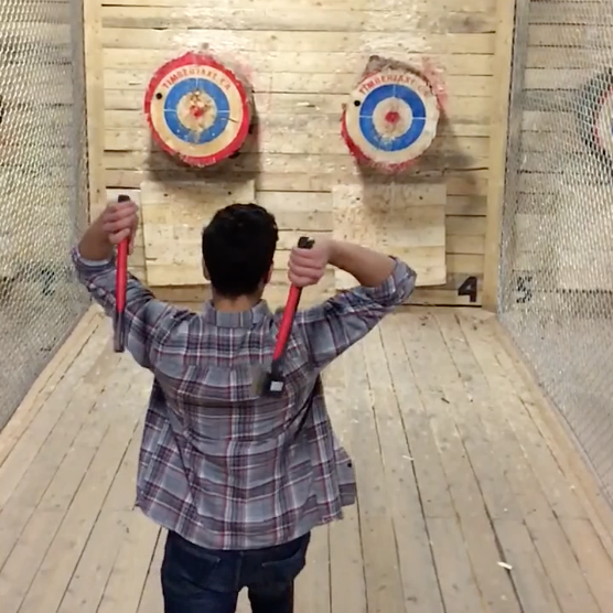Timberjaxe Axe Throwing