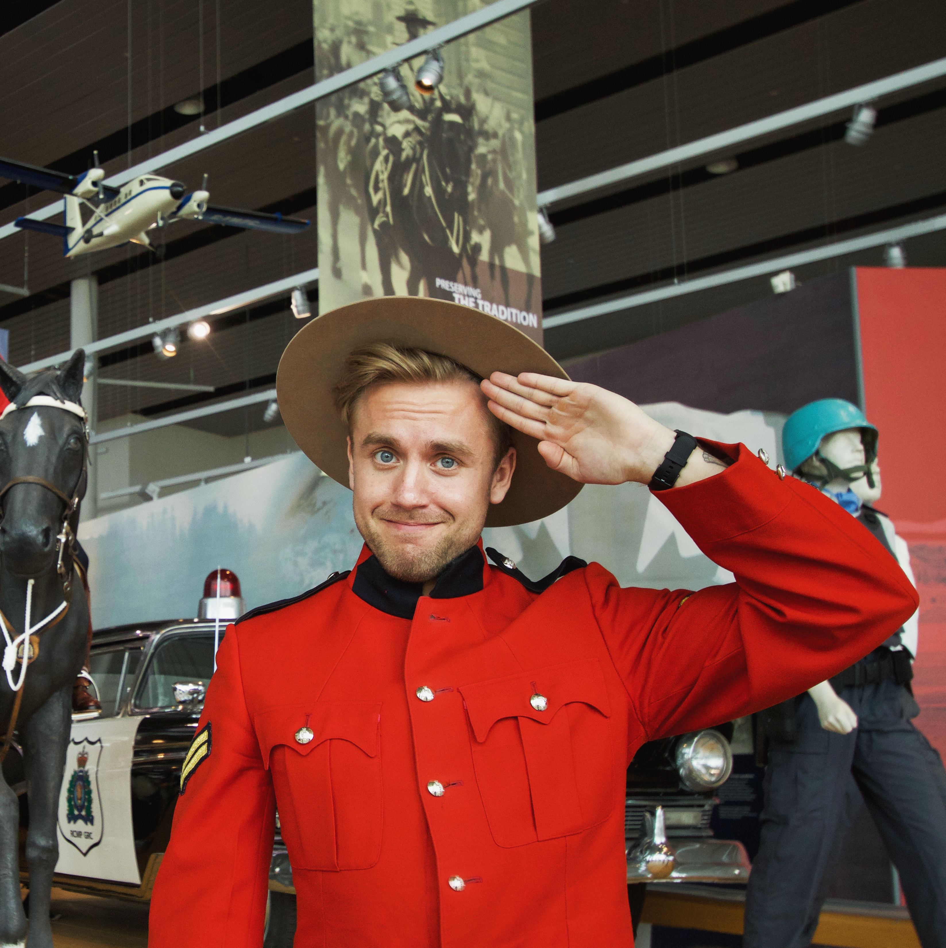 A Day in the Life of a Mountie - The RCMP Depot Division and Heritage Centre